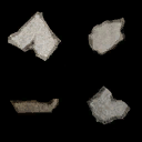 Concrete Debris Atlas - Used In 3D Particles